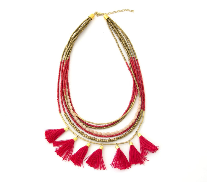 Suzette Tassel Necklace