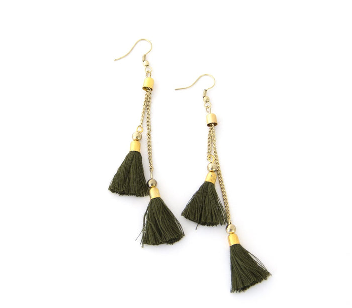 Kaden Fern Earrings