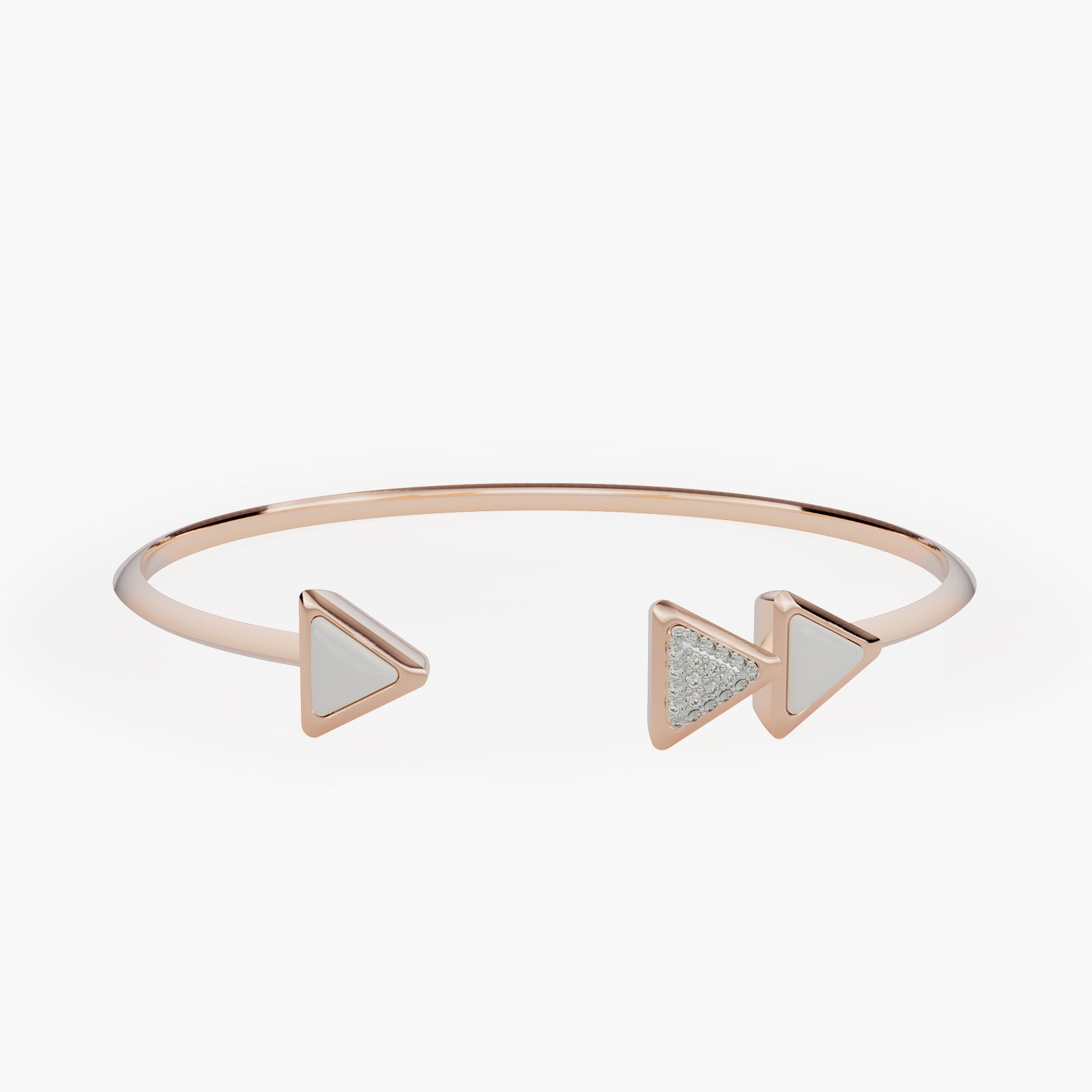 Bracelet Dove Vai Forward Exquisite Rose Gold Kogolong and Diamonds