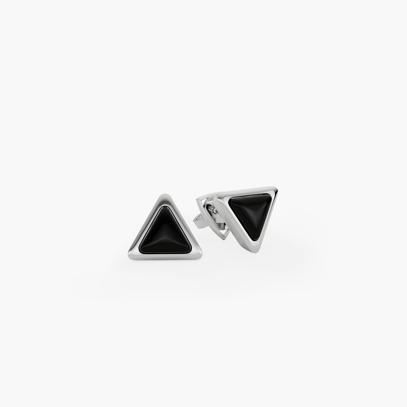 Earrings Be The One Gem White Gold Onix