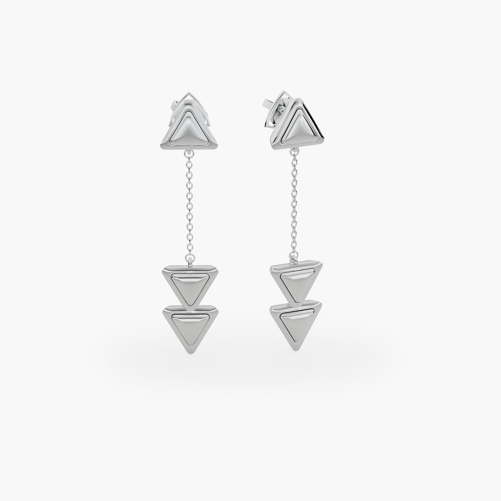 Earrings Dove Vai Rewind Essential Full White Gold
