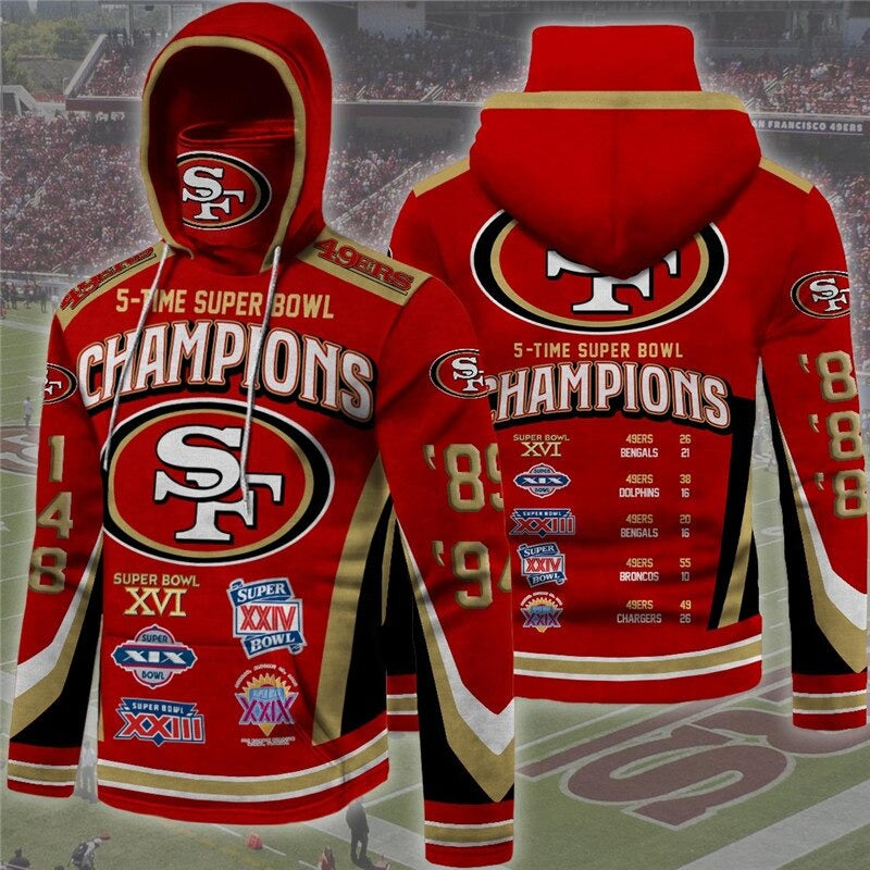 San Francisco 49ers Champions Hoodie