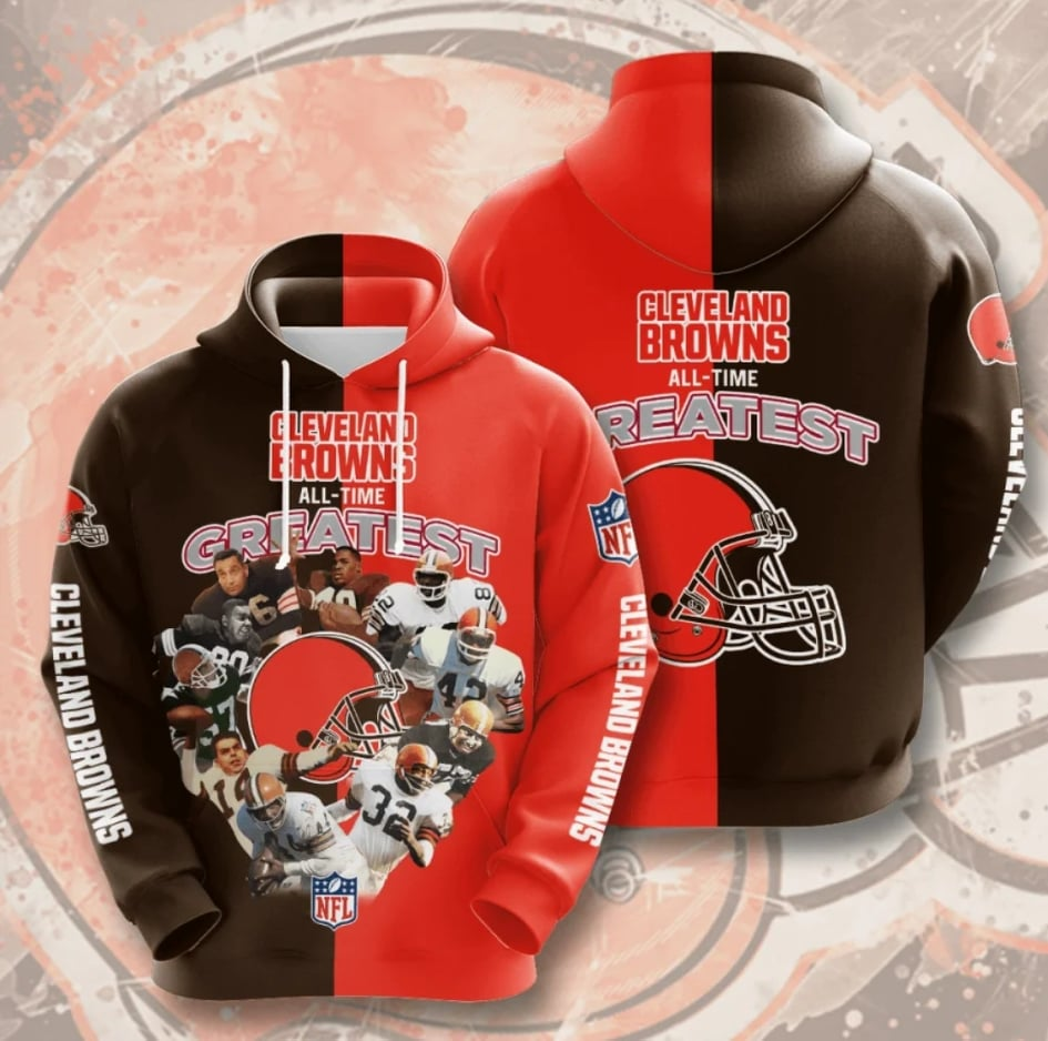 Cleveland Browns All - Time Greatest Champs Hoodie