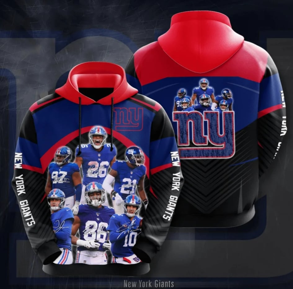 New York Giants Champs Hoodie (Limited Edition)