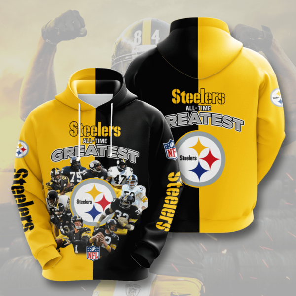 Pittsburgh Steelers All-Time Greatest Hoodie