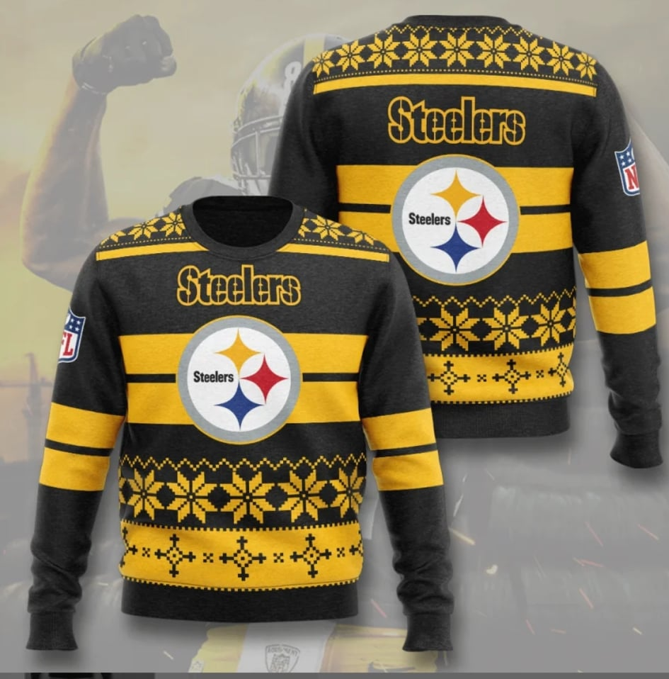 Pittsburgh Steelers Champs Sweatshirt (Holiday Edition)