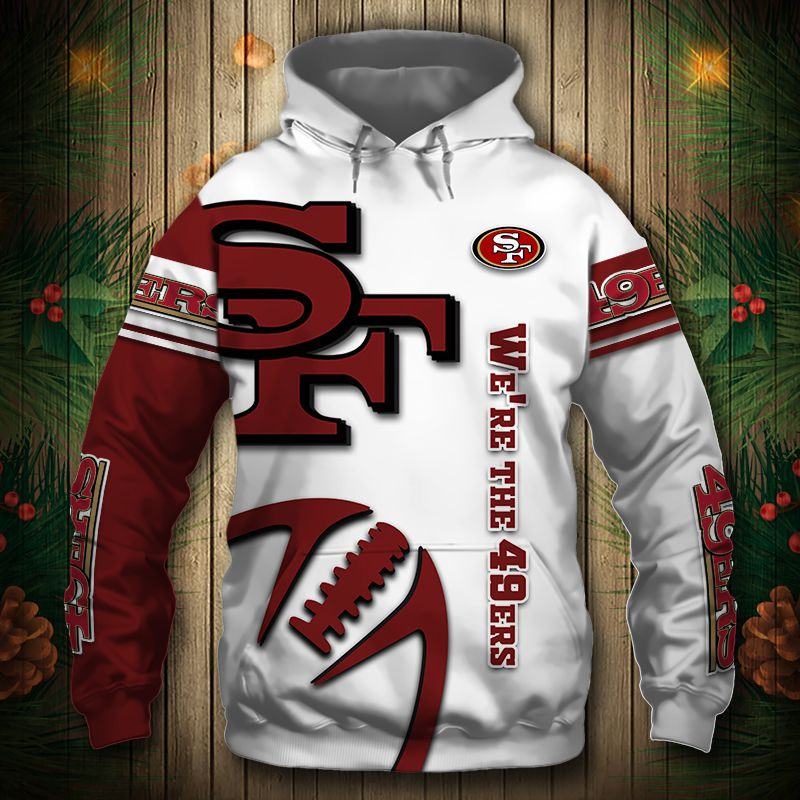 San Francisco 49ers Champs Hoodie (Limited Edition)