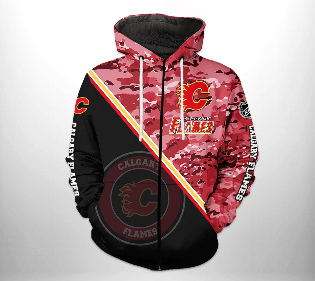 Calgary Flames Champs Hoodie (Luxury Edition)