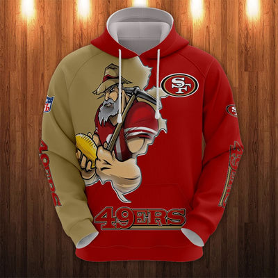 San Francisco 49ers Champs Hoodie (Premium Edition)