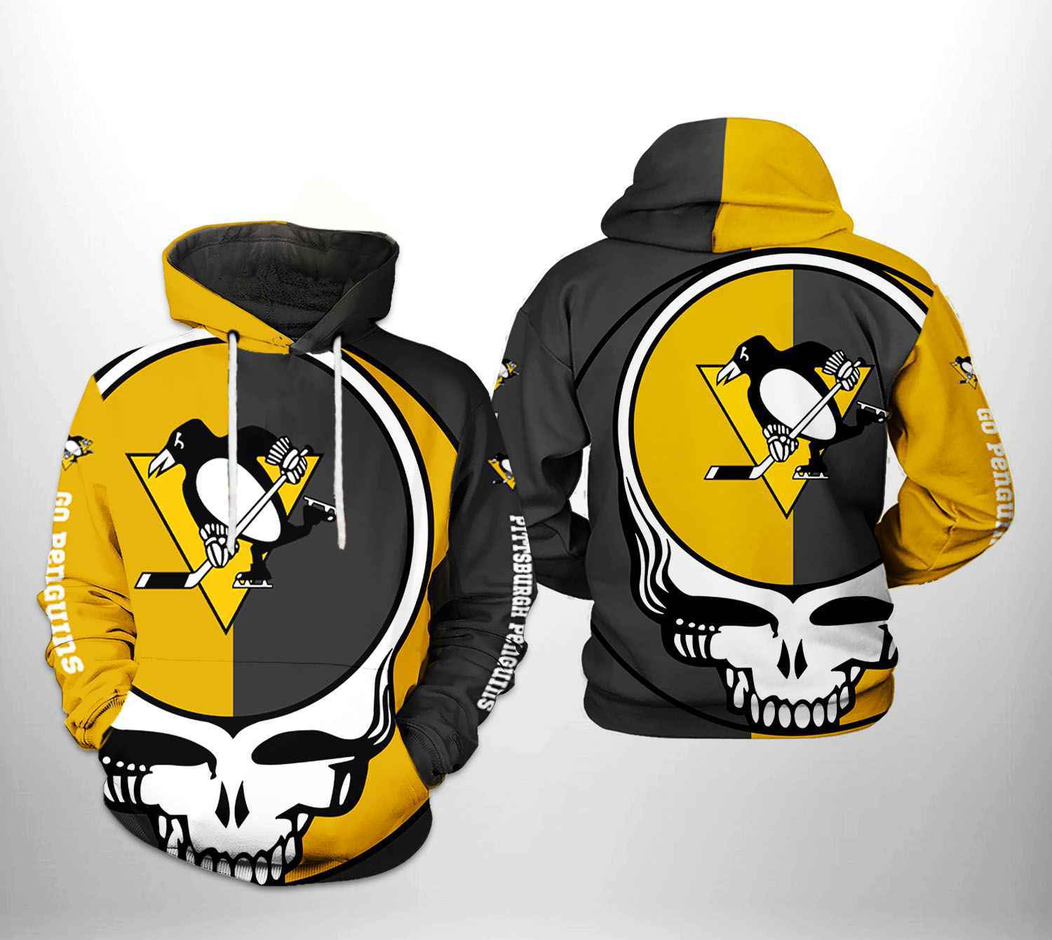 Pittsburgh Penguins and Steelers Champs Hoodie