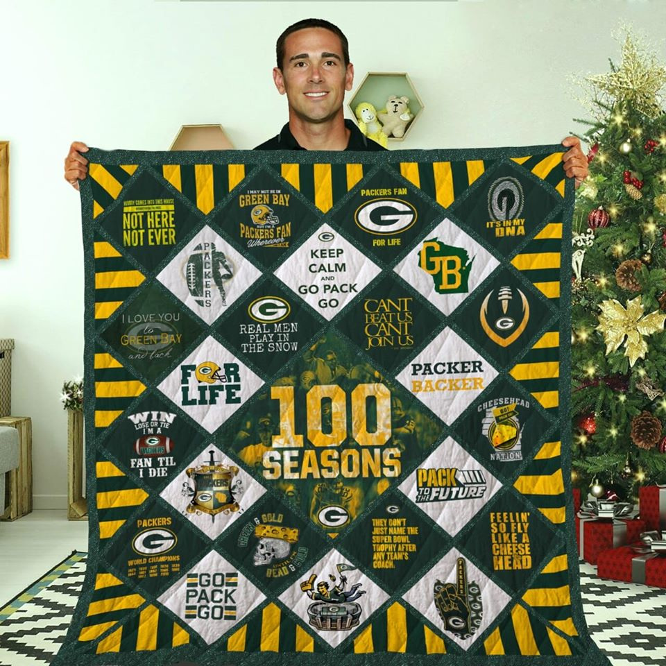 Green Bay Packers Champs Blanket