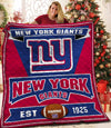 New York Giants Champs Blanket