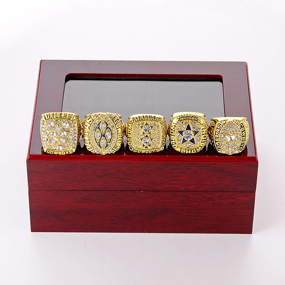 5Pcs/Set Dallas Cowboys Super Bowl Championship