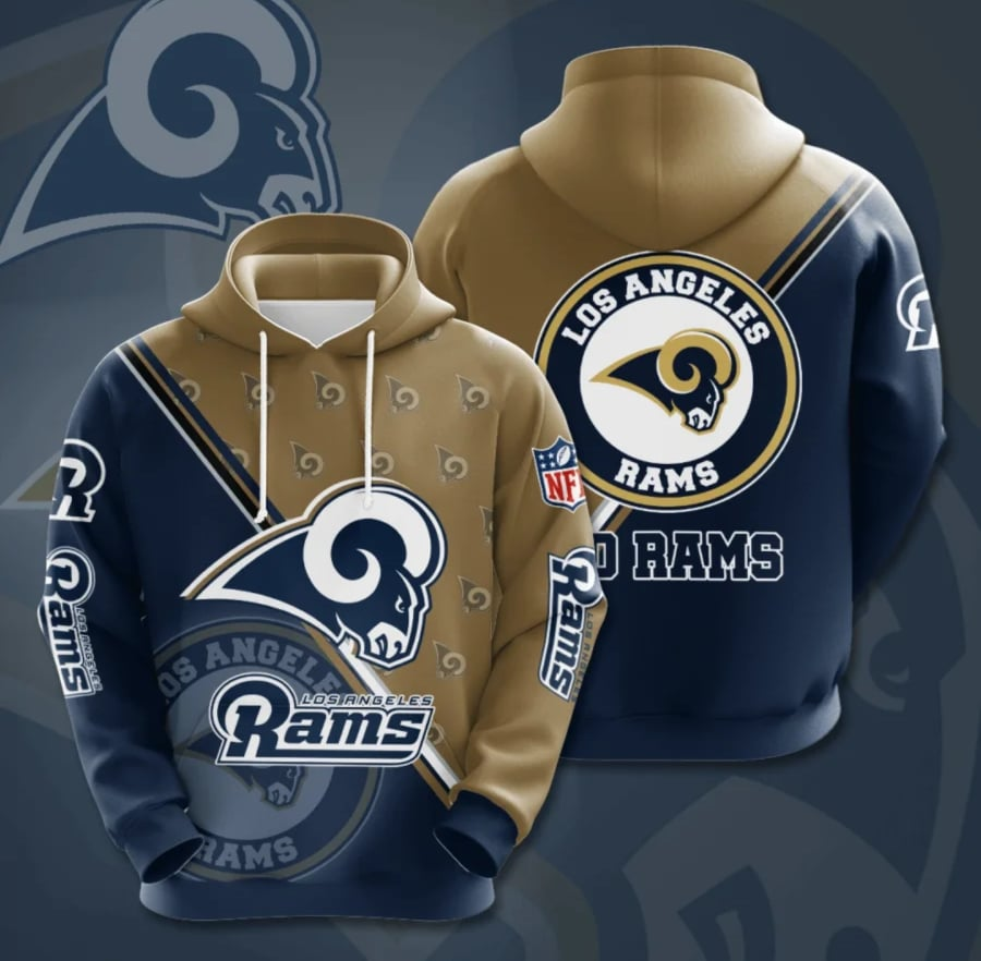 Los Angeles Rams Champs Hoodie (Premium Edition)