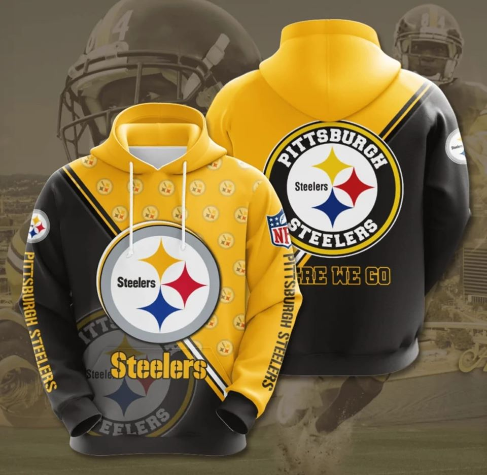 Pittsburgh Steelers Champs Hoodie (Premium Edition)
