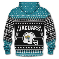 Jacksonville Jaguars Champs Hoodie (Holiday Edition)