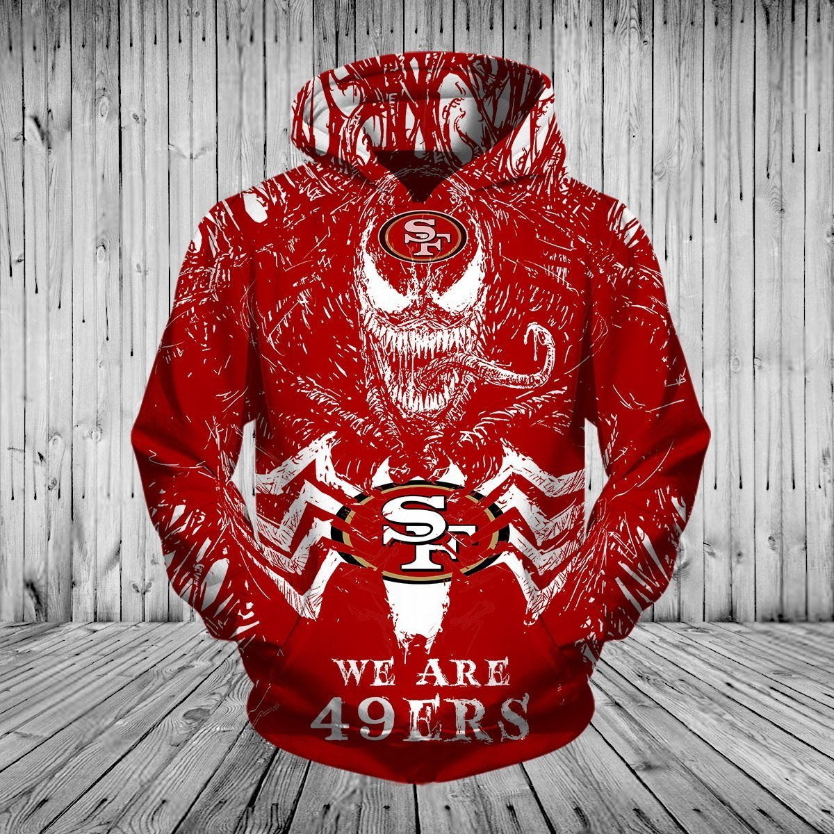 San Francisco 49ers Champs Hoodie