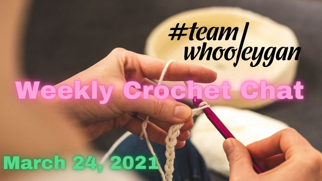 Team Whooleygan Chat LIVE with Karen - March 24, 2021