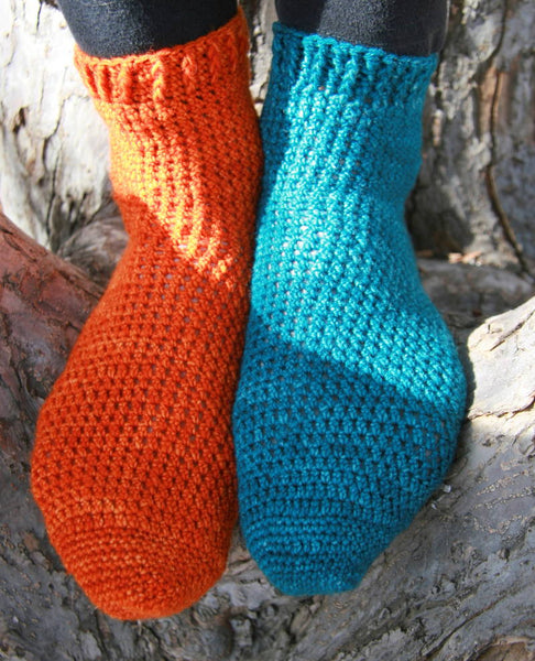 Mix n Match Toe Up Socks | Karen Whooley