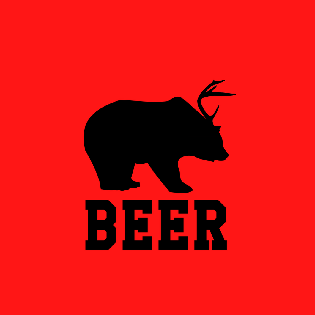 Beer Bear Original T Shirt