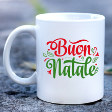 Load image into Gallery viewer, Buon Natale Mug
