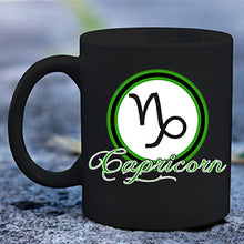 Load image into Gallery viewer, Capricorn Black mug