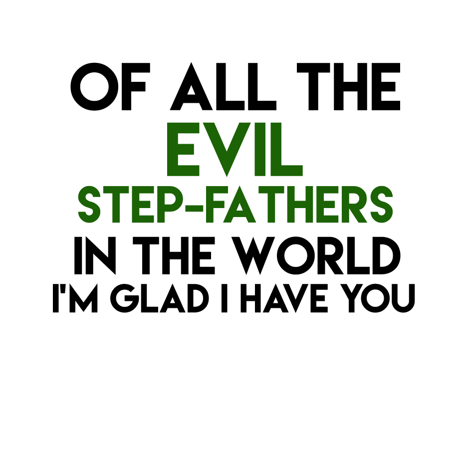 Evil Stepfather T shirt