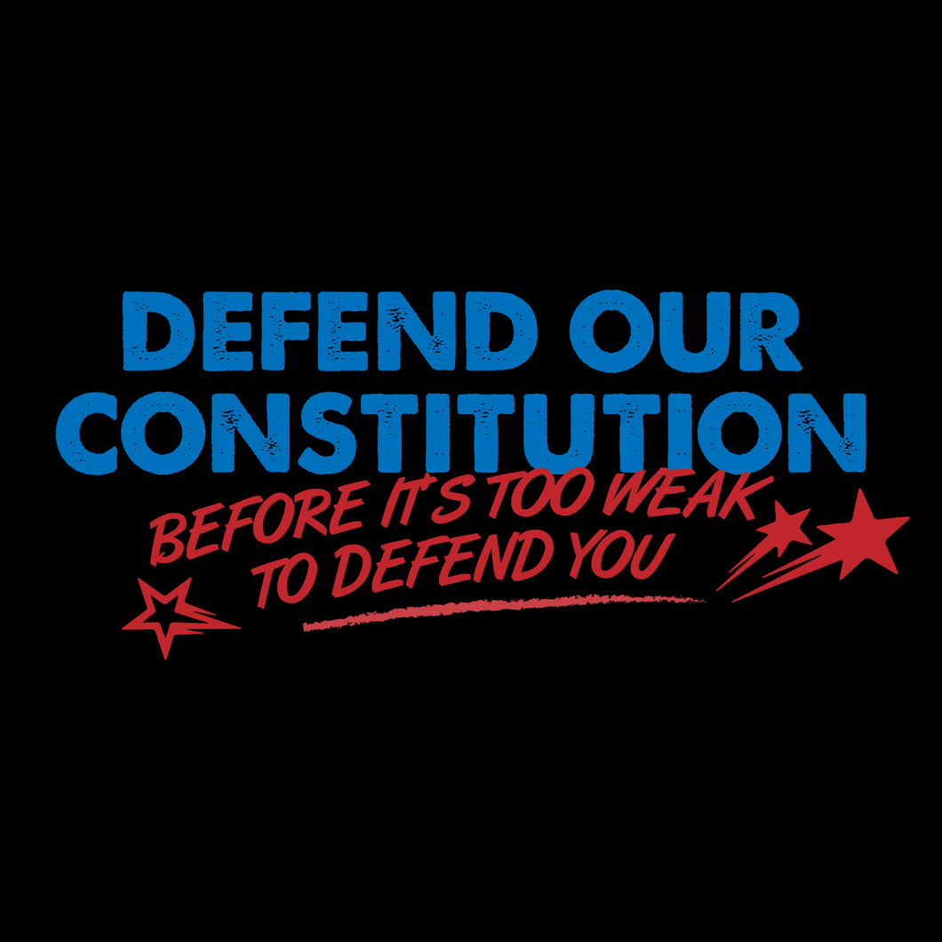 Defend our Constitution T Shirt