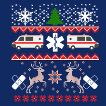Load image into Gallery viewer, EMT Ugly Christmas Sweatshirt