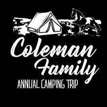 Load image into Gallery viewer, Personalized Family Camping Hoodie