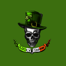 Load image into Gallery viewer, Irish Skull T Shirt