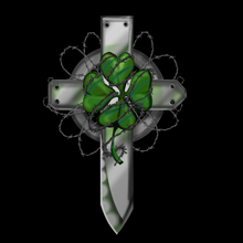 Load image into Gallery viewer, Irish Cross Knife T Shirt