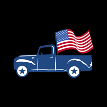 Load image into Gallery viewer, Patriotic Truck T Shirt