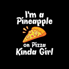 Load image into Gallery viewer, Pineapple Pizza Girl T Shirt