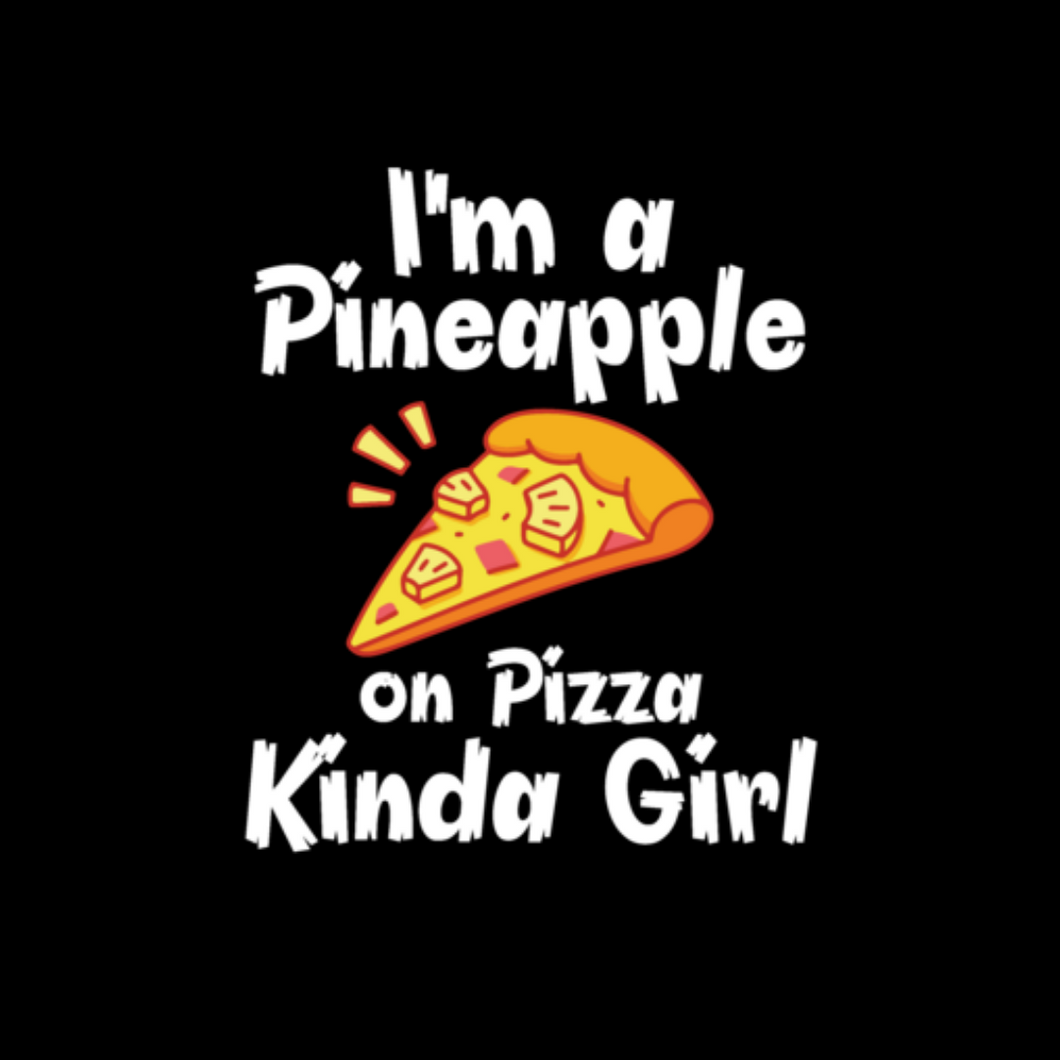Pineapple Pizza Girl T Shirt