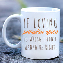 Load image into Gallery viewer, Pumpkin Spice Mug