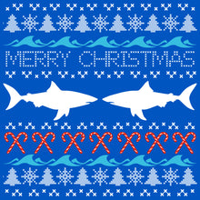 Load image into Gallery viewer, Shark Ugly Sweater T Shirt