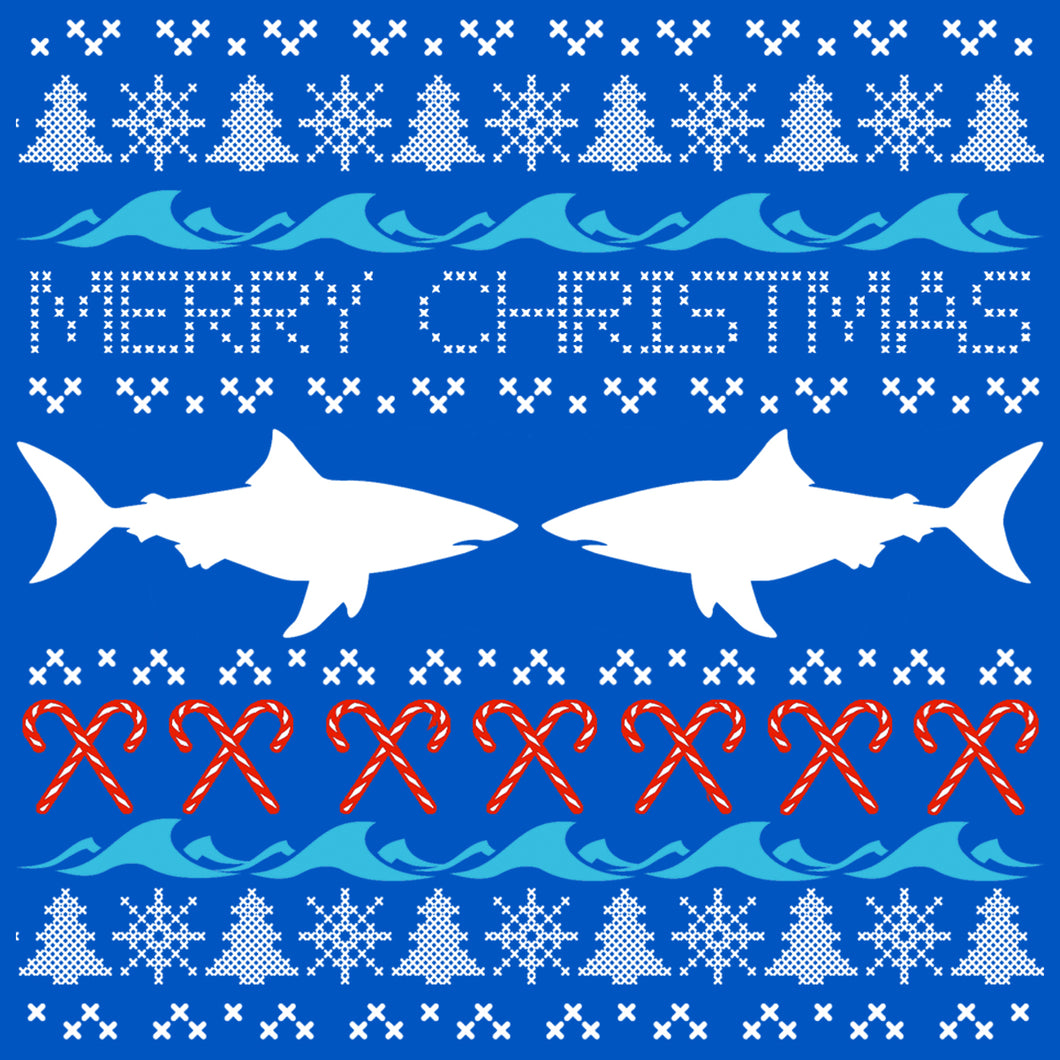 Shark Ugly Sweater T Shirt