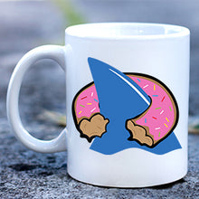 Load image into Gallery viewer, Shark Donut Mug