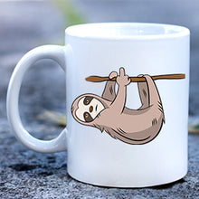 Load image into Gallery viewer, Sloth Giving Finger Mug