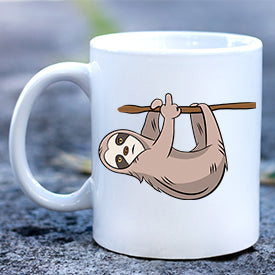 Sloth Giving Finger Mug
