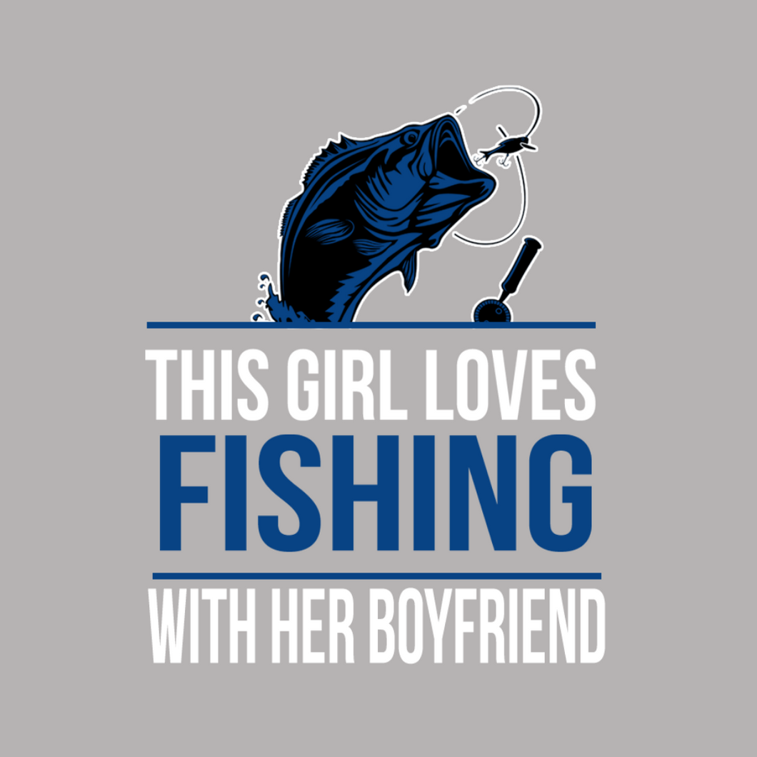 This Guy Loves Fishing with His Daughter T Shirt