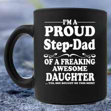 Load image into Gallery viewer, Step Dad Mug
