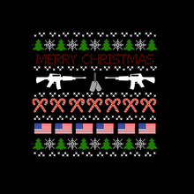 Load image into Gallery viewer, Veteran Ugly Christmas Sweatshirt
