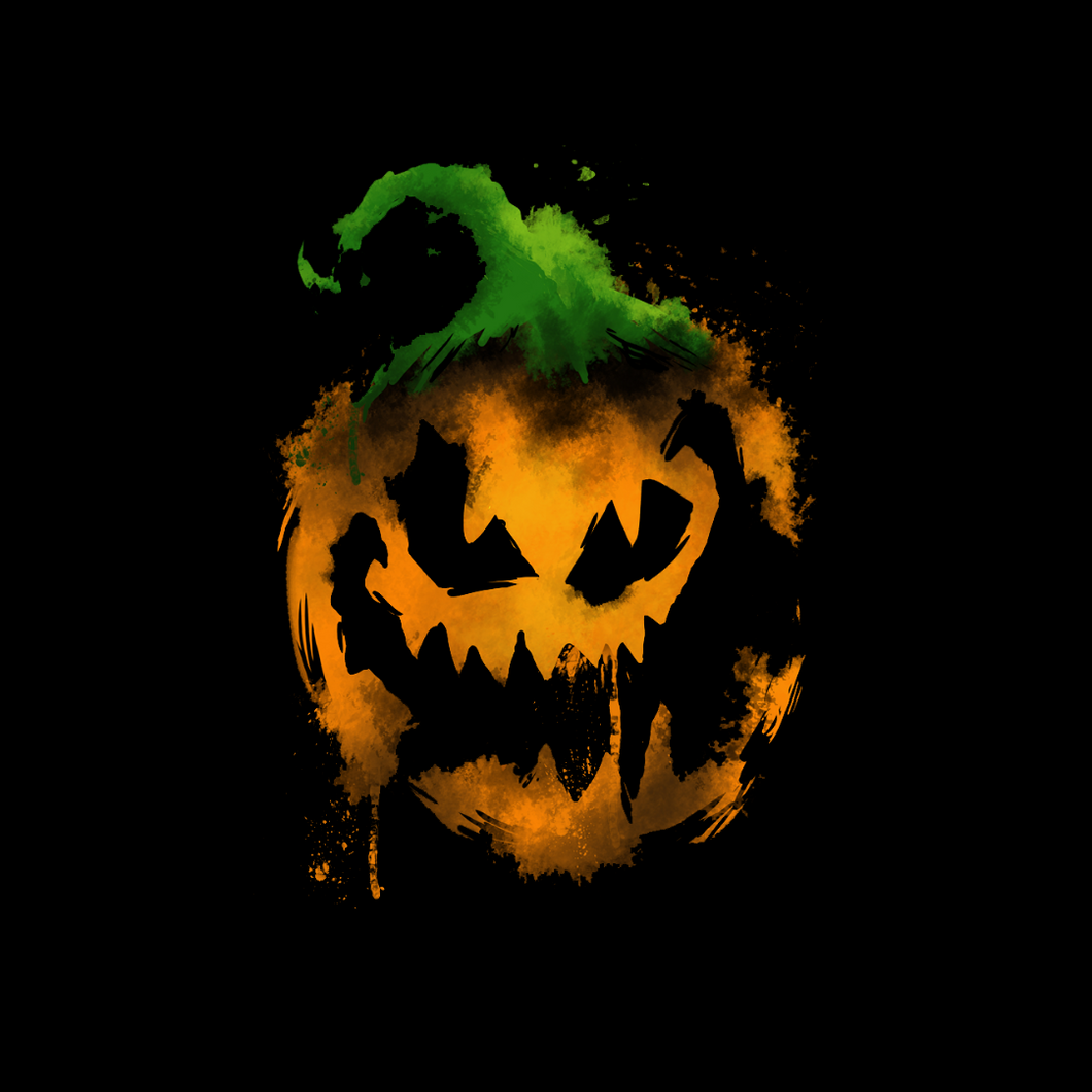 Pumpkin Watercolor T Shirt
