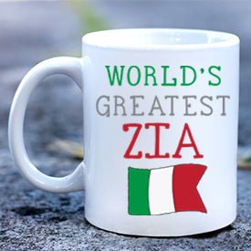 World's Greatest Zia Mug