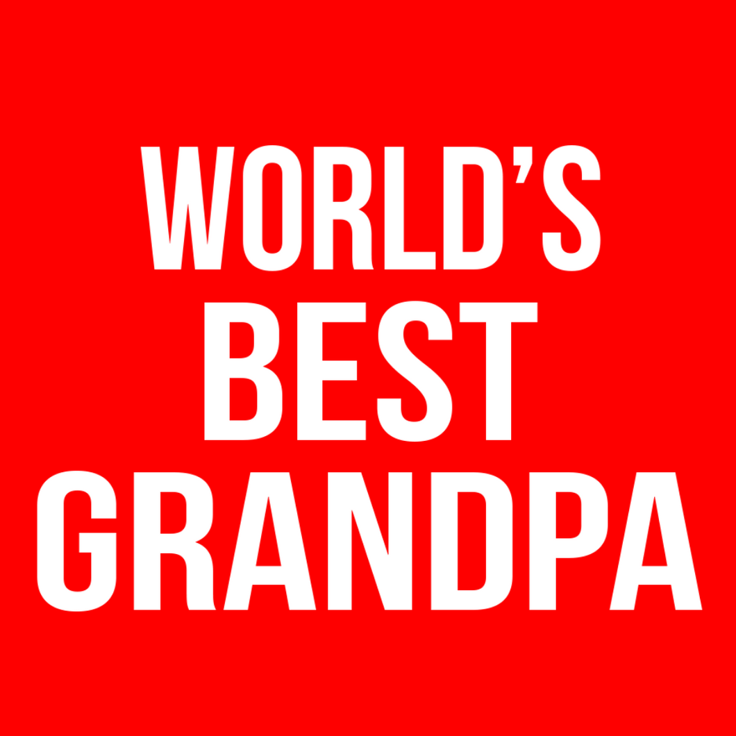 World's Best Grandpa T Shirt