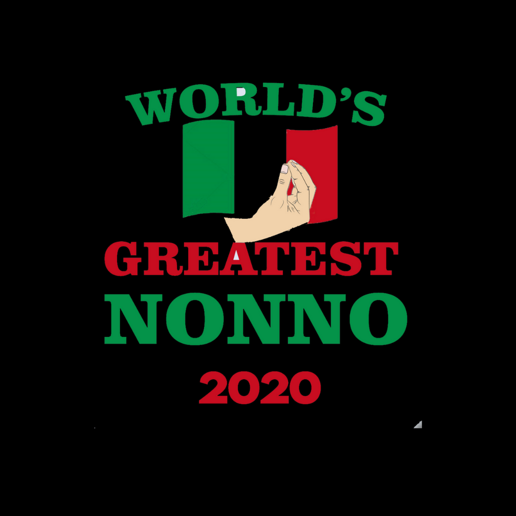 World's Greatest Nonno T Shirt