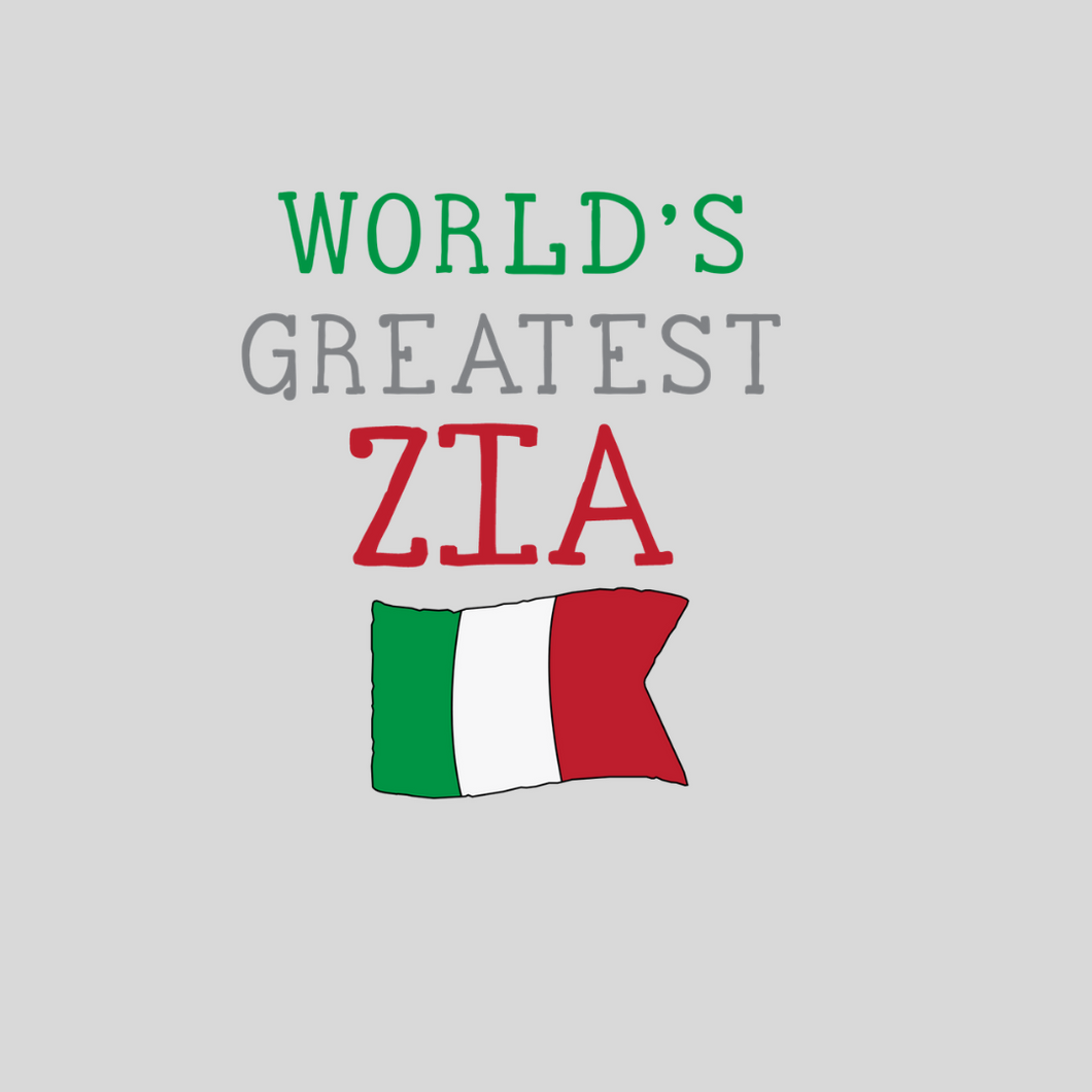 World's Greatest Zia Sweatshirt