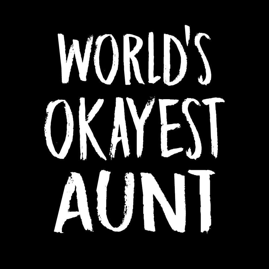 World's Okayest Aunt T Shirt